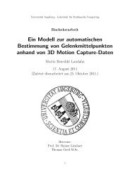 Ein Modell zur automatischen Bestimmung von Gelenkmittelpunkten ...