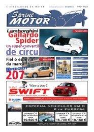 Gallardo Spider - Sprint Motor