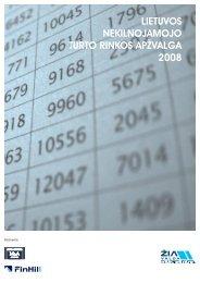 lietuvos nekilnojamojo turto rinkos apžvalga 2008 - SPOT