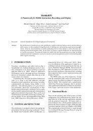 MobileBIT: - Instituto de Telecomunicações