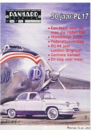 Lees Panhard Koerier 160 online - Panhardclub Nederland