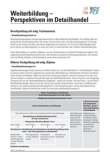 Lerndokumentation dhf bildung detailhandel schweiz bds for Weiterbildung innenarchitektur schweiz