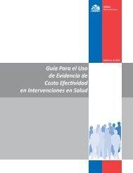 Guía Para el Uso de Evidencia de Costo Efectividad en ...