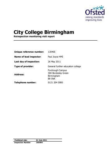 City College Birmingham - Study in the UK