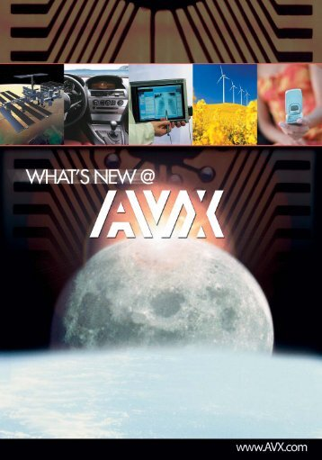 What's New @ AVX - Issue 7