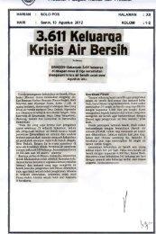 Krisis Air Bersih - Sragen