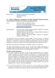 Amendment Bill - Our publications and databases - The University of ...