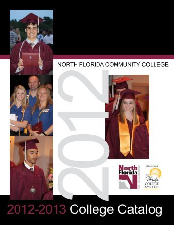 2012-2013 College Catalog - North Florida Community College