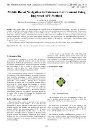 Mobile Robot Navigation in Unknown Environment Using ... - ACIT