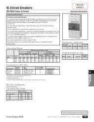 VL Circuit Breakers - Siemens