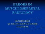 Errors in Musculoskeletal Radiology