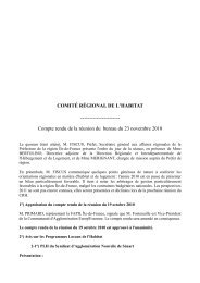 Téléchargement du CRH du 23 novembre 2010 - DRIHL Ile-de-France