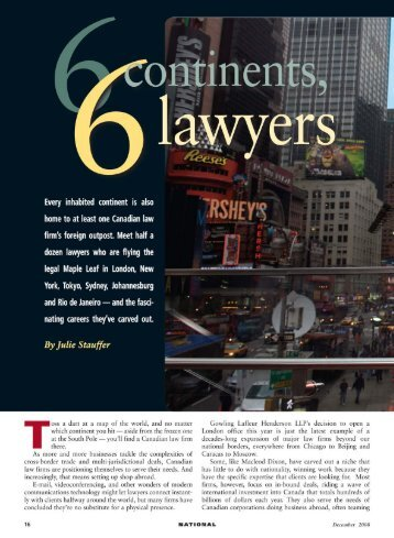 CBA's National - Creativity in the legal practice