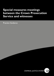 Special measures - Crown Prosecution Service