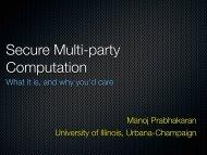 Manoj Prabhakaran - UC Davis Computer Security Lab