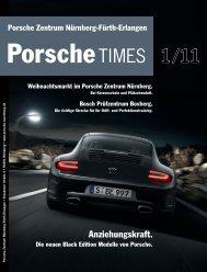 Anziehungskraft. - Porsche Zentrum Olympiapark