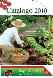 BayerGarden Catalogo 2010 - Clamer Informa