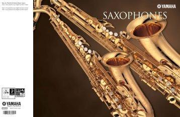 Yamaha Saxophones  - Ozwinds