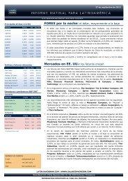 Mercados en EE. UU.: los futuros crecen - Sala de Inversión