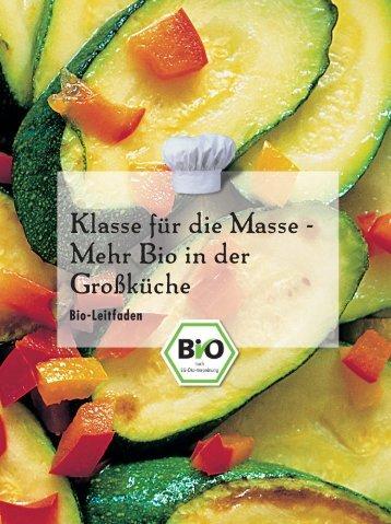 Bio in der - Oekolandbau.de