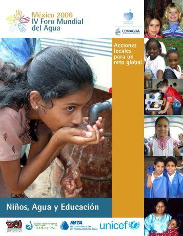 Niños, Agua y Educación - Naciones Unidas - Centro de ...