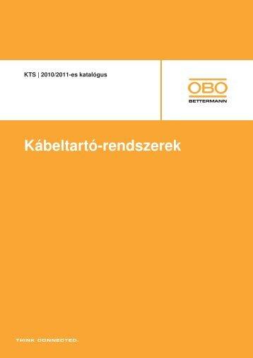KTS | Kábeltálcák - OBO Bettermann