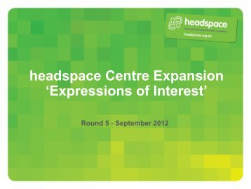 headspace centre expansion