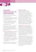Choose and Book Moving to direct booking – a checklist - Page 4