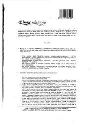 """ugovor o uzimanju kratkoročnog kredita sa """"Erstebankom"""" - CINS"""