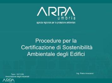 Pietro Innocenzi / Arpa Umbria