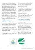 miljömärkning sverige ab hållbarhetsredovisning 2011 - Svanen - Page 3