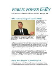 Public Power Daily