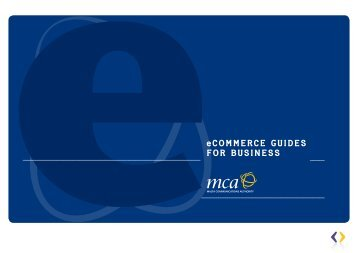 eCommerCe Guides for Business - Commonwealth Connects ...