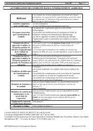 Autorisation de conduite - ChloroFil
