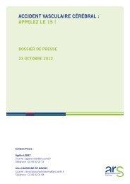Dossier presse AVC - 0,63 Mb - Les services de l'État dans le Val-d ...