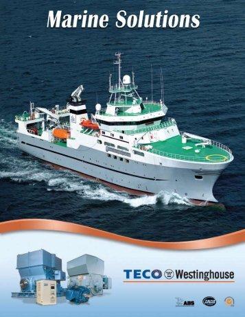 Marine Solutions Brochure - TECO-Westinghouse Motor Company