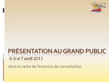 Présentation au grand public 7 avril 2011 ... - Web - Nbed.nb.ca
