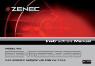 ZE-MC2000 Manual F.indd - Zenec