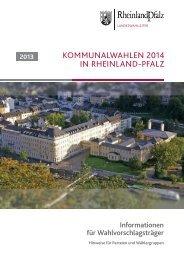 Informationen für Parteien und Wählergruppen als ... - Bad Kreuznach