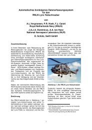 An Automatic In-Flight Data Acquisition ... - SWIFT GmbH