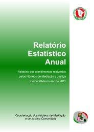 Relatório Estatístico Anual Coordenação dos Núcleos de Mediação ...