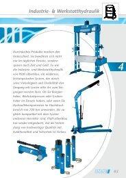 Industrie- & Werkstatthydraulik