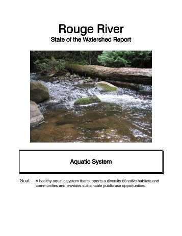 Aquatic System - Toronto and Region Conservation Authority