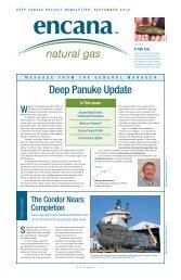 Deep Panuke update 2010 - Encana