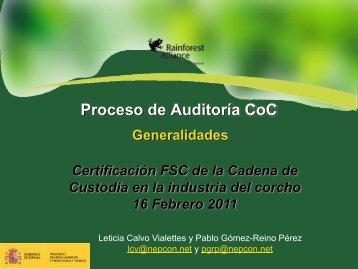 Proceso de Auditoría - WWF