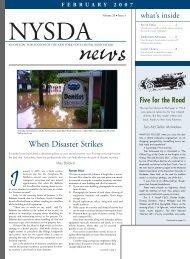 When Disaster Strikes - New York State Dental Association
