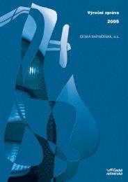 Výroční zpráva 2005 - Česká rafinérská, as