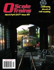 (jeb@oscalemag.com). - O Scale Trains Magazine Online
