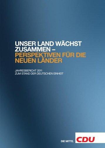 unser land wächst zusammen - CDU Kreisverband Ludwigsburg