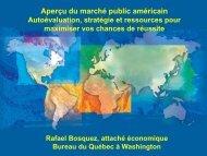 Optimisation de votre recherche - Québec International